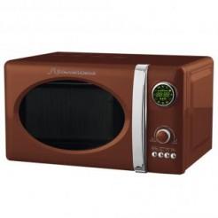 Schaub Lorenz MW823G CH Chocolate - Magnetron, Grill, 23 l, Display, Retro